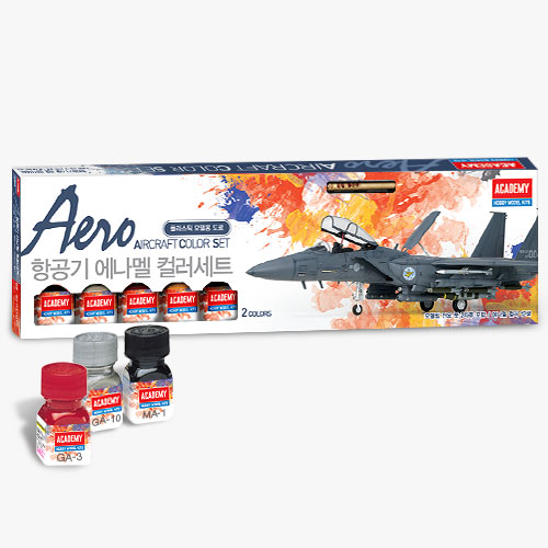15907 AIRCRAFT ENAMEL COLOR SET