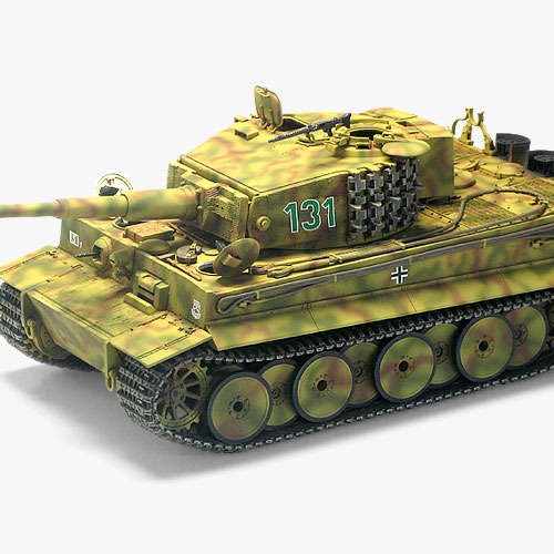 "[1/35] 13287 TIGER-I MID VER. ""Anniv.70 Normandy Invasion 1944"""