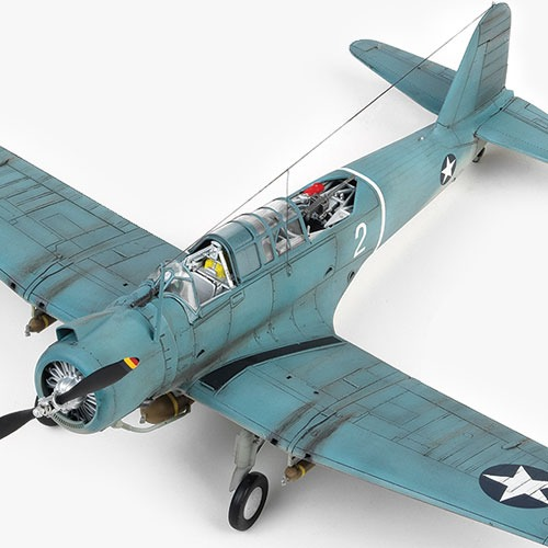 "[1/48] 12324 SB2U-3 ""Battle of Midway""(Released Mar,2018)"