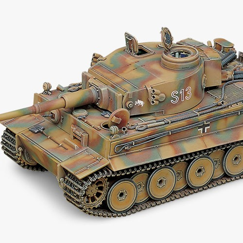 [1/35] 13239 GERMAN TIGER-I (EARLY VERSION)