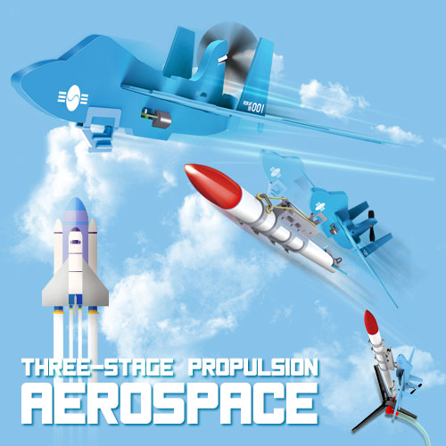 18564 Three-Stage Propulsion AEROSPACE